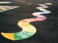 Thermoplastic Markings by Premier Recreation